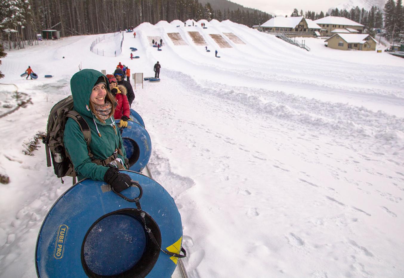 Tubing - Mt  Norquay Ski Resort